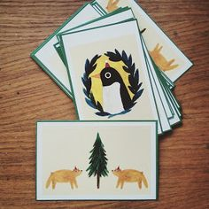 If only I can make you laugh. illustrations.: xmas postcards