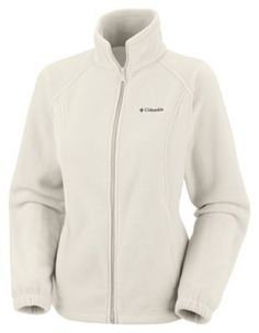 """Columbia Benton Springs Full-Zip Jacket for Ladies - Seasalt - 3X: """"""""""""When you need anotherayer to cut… #Fishing #Boating #Hunting #Camping"""