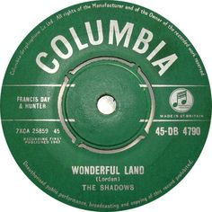 The Shadows - Wonderful Land (Columbia) No.1 (Mar '62) > https://www.youtube.com/watch?v=4j9fJbkzheY