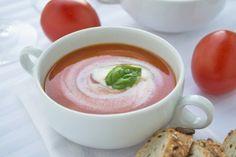 Würzige Tomatencremesuppe-Rezept
