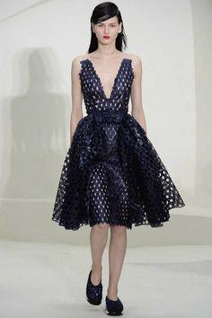 Christian Dior Spring 2014 Couture: Mila Kunis (www.ifiwasastylist.blogspot.com)