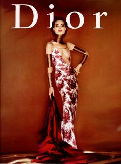'Christian Dior Spring Summer 1998 Advertising Campaign', Shalom Harlow by Nick Knight. Christian Dior Spring Summer 1998 Ready-to-Wear