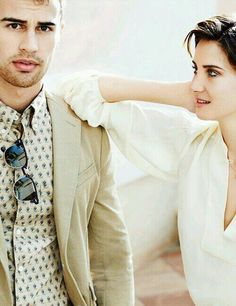 theo james and shailene woodley.