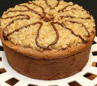 German Chocolate Pound Cake from Dawn East of Cherokee County Chocolate Pound Cake, German Chocolate, Chocolate Recipes, Just Desserts, Delicious Desserts, Dessert Recipes, Yummy Recipes, Cake Cookies, Cupcake Cakes