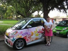 Meadowview Thymes ~ Smart Cars and Butterflies!