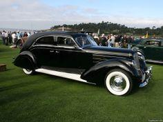1937 Lincoln Derham Sport Sedan