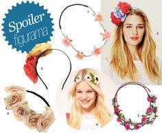 como fazer headband floral - Pesquisa Google