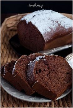 Cinnamon cake with Jame Cinnamon Cake, Good Food, Yummy Food, Polish Recipes, Pumpkin Cheesecake, Food Cakes, Tasty Dishes, Let Them Eat Cake, Cake Recipes