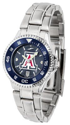 Arizona Wildcats - University Of Competitor Anochrome - Steel Band W/ Colored Bezel - Ladies - Women's College Watches by Sports Memorabilia. $87.08. Makes a Great Gift!. Arizona Wildcats - University Of Competitor Anochrome - Steel Band W/ Colored Bezel - Ladies