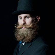 Bushy Old Fashioned Mustache