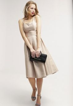 Chi Chi London - CERI - Sukienka koktajlowa - mocha
