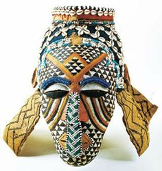 Ritual and ceremonial masks are an essential feature of the traditional culture and art of the people of West Africa . African Masks, African Art, African History, Ceramic Mask, Art Premier, Paper Mask, Maquillage Halloween, Masks Art, Arts Ed