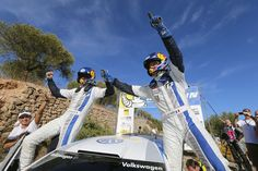 Volkswagen has won the manufacturers' title in the FIA World Rally Championship (WRC) with a one-two victory at the Rally Spain. #Volkswagen #Race #Rally #Sports #News