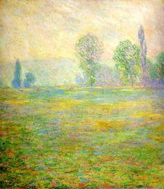 Клод Моне - Meadows at Giverny, 1888