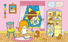 【Android iPhone PC】Little Twin Stars Wallpaper 2015 十二月桌布 日本草莓新聞 Stars Wallpaper, My Melody Wallpaper, Hello Kitty Wallpaper, New Wallpaper, Sanrio Characters, Cute Characters, Little Twin Stars, Little Star, Star Illustration