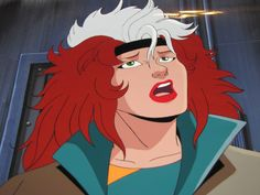 X Men The Animated Series 1992 Animation Rogue Cel Hand Painted Back Art P132 | eBay