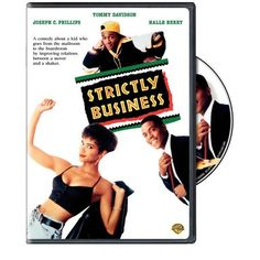 "FTOP: ""Amazon.com: Strictly Business: Tommy Davidson, Joseph C. Phillips, David Marshall Grant, Anne-Marie Johnson, Halle Berry, Denis Leary, Paul Butler, Isaiah Washington, James Mc Daniel, Sam Rockwell, Samuel L. Jackson, Annie Golden, Kevin Hooks, Andre Harrell, Pamela Gibson, Chris Zarpas, Mark Burg, Nelson George: Movies & TV"" One of the few Leary movies I don't own yet."