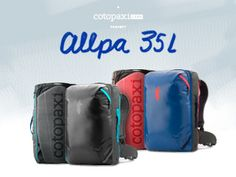 The Ultimate Adventure Travel Pack: Allpa 35L | Indiegogo