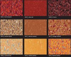 armstrong linoleum flooring, marmorette, firebird red | hurrah for
