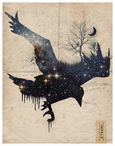 Space Raven by Impale Design