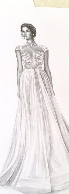 Amazing #MUSEbyBerta #trendsketch by Elma Ismailian <3