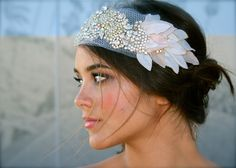 head piece i wore on my wedding day.  Plan on wearing it on all of our anniversaries its so beautiful.