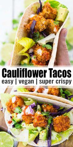 Easy Vegan Dinner, Vegan Dinner Recipes, Delicious Vegan Recipes, Vegan Dinners, Vegetarian Recipes, Healthy Recipes, Vegetarian Wings, Vegan Vegetarian, Keto Dinner