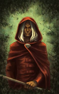 // I will always think of Raistlin as a red robe at heart. He was, after all, Par-Salian's 'sword' that truly cut both ways, and he perfectly represented the fight for balance between light and darkness.