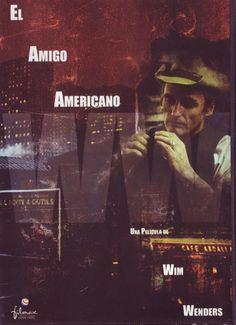 Amigo americano (1977) Alemaña. Dir: Wim Wenders. Drama. Cine negro. Enfermidade. Mafia. Películas de culto - DVD CINE 716