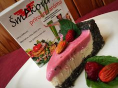 MAKOVO-MALINOVÉ ŘEZY S MANDLAMI Cheesecake, Desserts, Food, Diet, Tailgate Desserts, Deserts, Cheesecakes, Essen, Postres