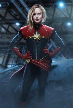 Capitã Marvel - Finalmente foi revelado quem interpretará a heroína! - Legião dos Heróis