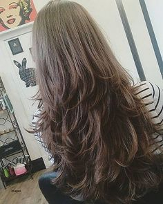 70 Classy Long Layered Hairstyles for Women Guide) hair styles for girls with long hair - Hair Style Girl Thin Hair Cuts, Long Thin Hair, Long Cut, Long Layer Hair, Layered Long Hair, Thick Hair, Trendy Hairstyles, Straight Hairstyles, Layered Hairstyles