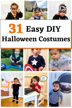 The best homemade halloween costumes for everyone. So funny on this tiny toddler.