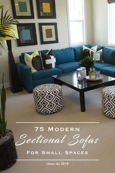 75 Modern Sectional Sofas For Small Spaces.  #ModernSectionalSofas  #ModernSectionalSofasForSmallSpaces  #SectionalSofasForSmallSpaces