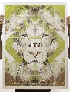 Mudhoney los angeles poster