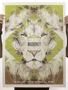 Mudhoney los angeles poster