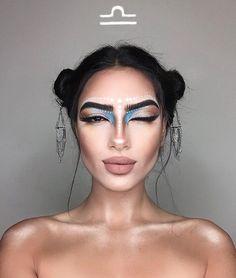 Artist Creates 12 Makeup Looks, One For Each Zodiac Sign