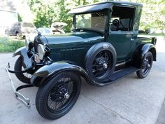 1929 Ford Model A Closed Cab Pick Up