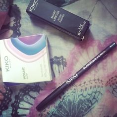 1ere session de shopping de cet été :3 #kiko #makeup #maquillage #beauté #beauty #summer #shopping #soldes