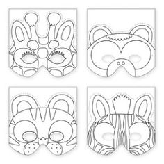 Artist in LA LA Land Illustration & Design: Papercraft DIY Art Projects: Make Your Own Animal Mask by Galison Publishing