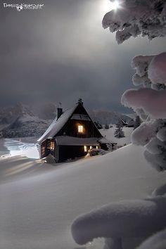 New Nature Winter Wonderland Snow Scenes 62 Ideas Winter Szenen, I Love Winter, Winter Magic, Winter House, Winter Night, Snow Night, Winter Time, Wallpaper Natal, Beautiful World