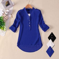 Camisa Chiffon Seda