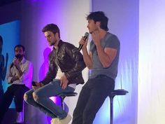 Ian Somerhalder and Nate Buzolic at Bloody Night Con 6 in Barcelona,  Spain (05/21/16)