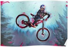 Finn Iles at the Crankworx Whip off Poster