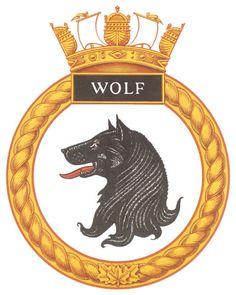 HMCS WOLF Badge - The Canadian Navy - ReadyAyeReady.com