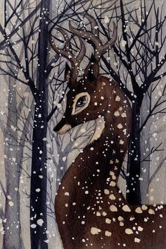 Snowfall by Renee Nault Art