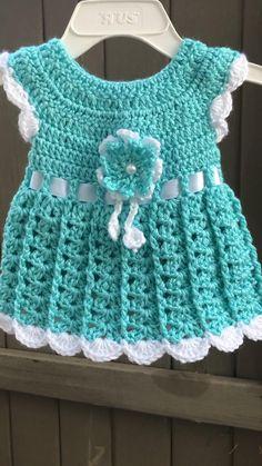 Crochet Baby Dress Free Pattern, Crochet Baby Poncho, Baby Dress Patterns, Crochet Cardigan Pattern, Baby Girl Crochet, Crochet Baby Clothes, Baby Knitting Patterns, Crochet Baby Dresses, Crochet Toddler Dress
