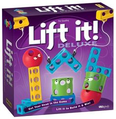 Lift It is a game you'll really have to use your head to win (literally).