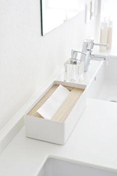 Tissue Case - Rin - natural | Yamazaki