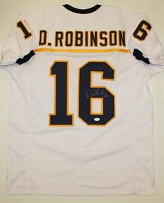 AAA Sports Memorabilia LLC - Denard Robinson Michigan Wolverines NCAA Hand Signed Authentic Style Navy Jersey, $270.00 (http://www.aaasportsmemorabilia.com/collegiate/denard-robinson-michigan-wolverines-ncaa-hand-signed-authentic-style-navy-jersey/)